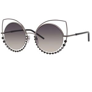 Marc Jacobs cat eye sunglasses with rhinestones